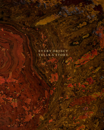 Every Object Tells a Story catalogue cover 2017