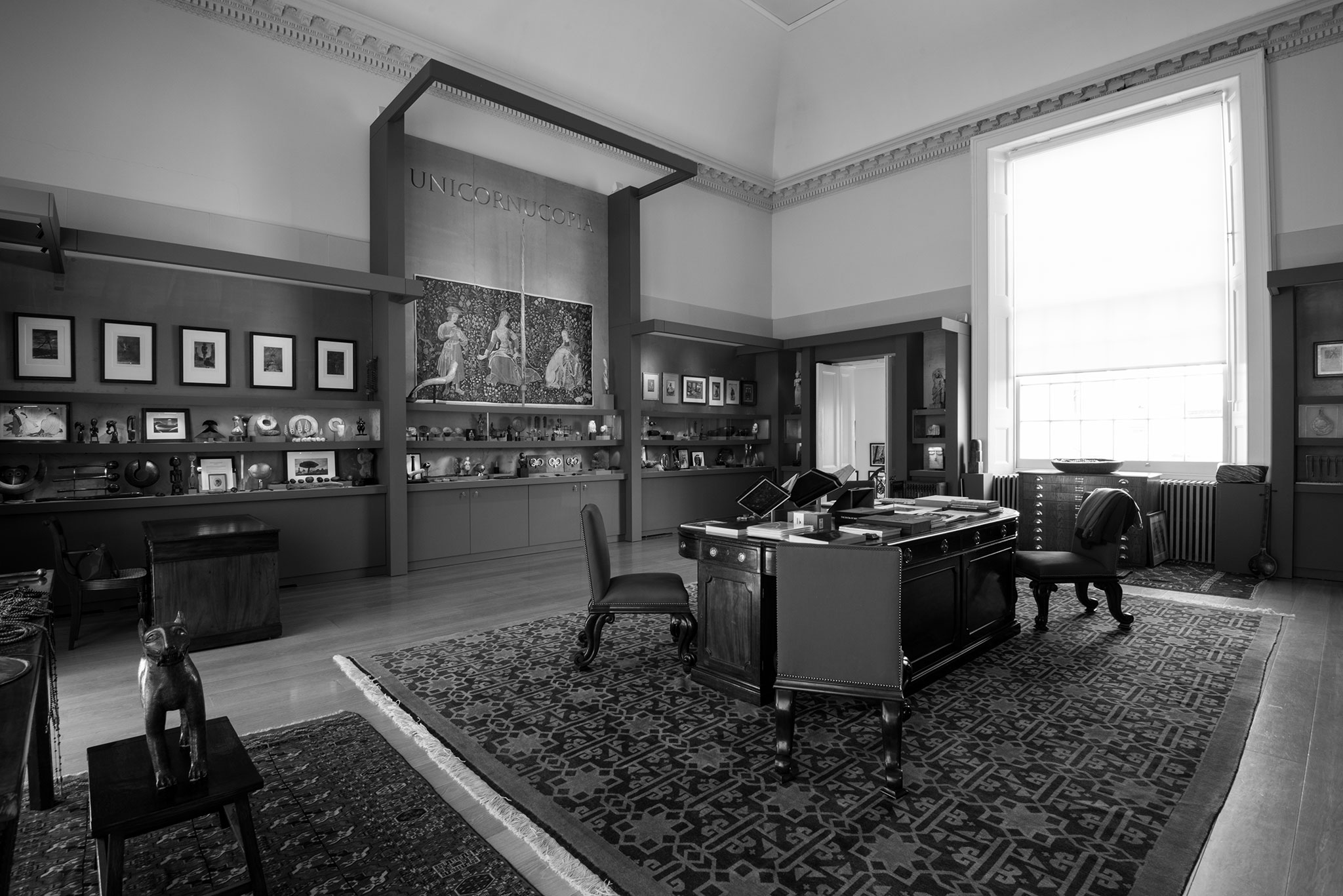 The Lavery Room interior - stairwell