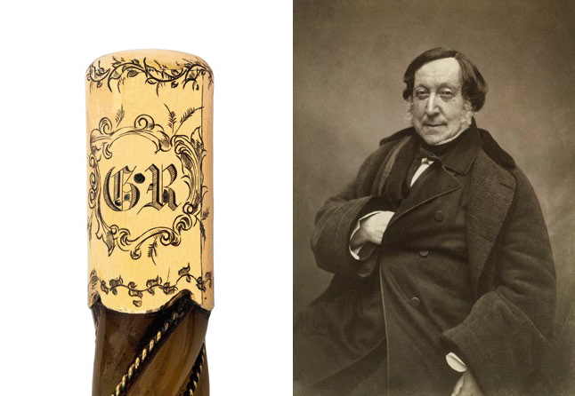 Conductor's Wand belonging to Gioachino Rossini
