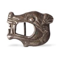 46 Scythian Silver Belt Fitting