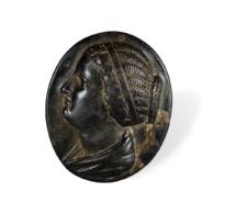 63 A Ptolemaic Bronze Bezel of a Ring