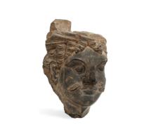 79 Gandhara Head of Atlas