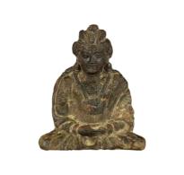 89 A Bronze Seated Siddhartha