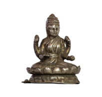 98 Four-Armed Tara on a Double Lotus Throne