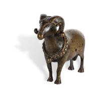 110 A Soghdian Bronze Mouflon