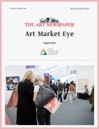 Art Newspaper Newsletter Sept 2019