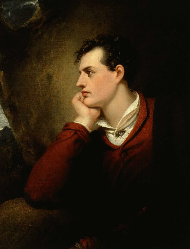 Lord Byron by Richard Westall, 1813 © National Portrait Gallery, London