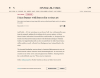 Financial Times article by Melanie Gerlis