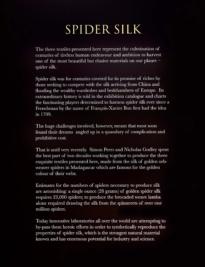 Spider Silk text