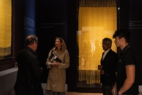 Frieze week visitors at The Natural World exhibition, Oliver Hoare Ltd
